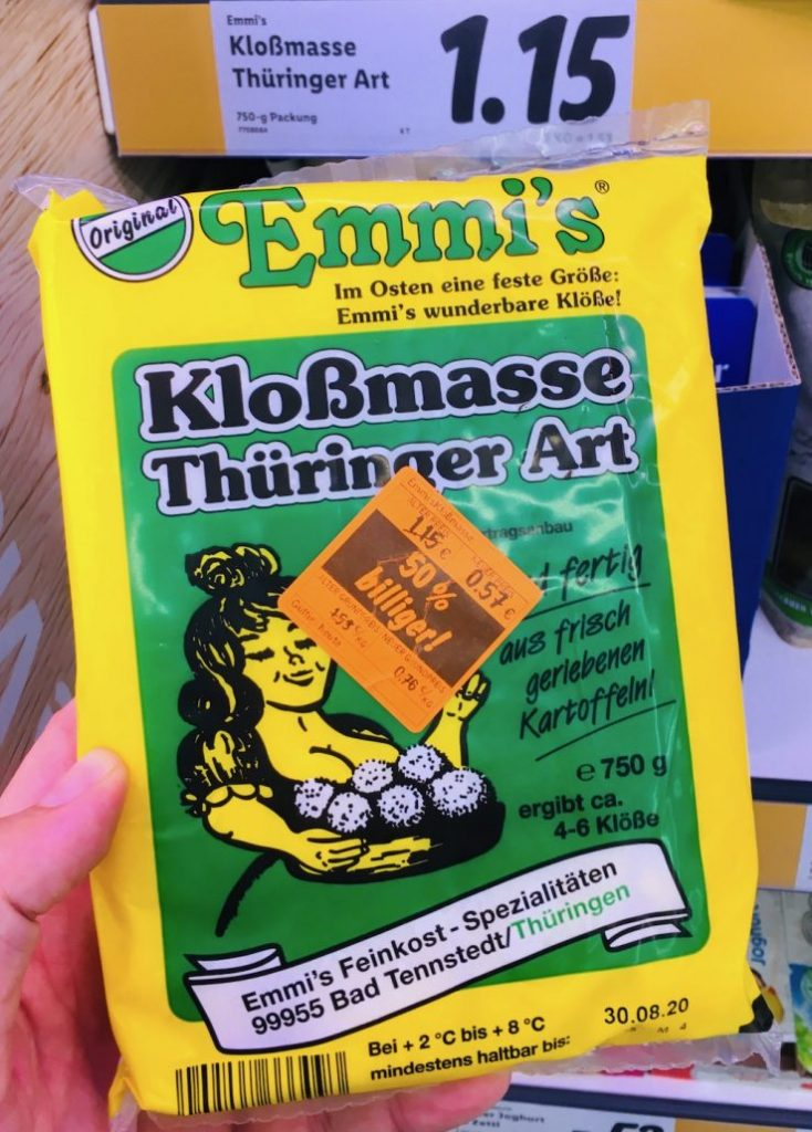 Emmi's Kloßmasse Thüringer Art 750G