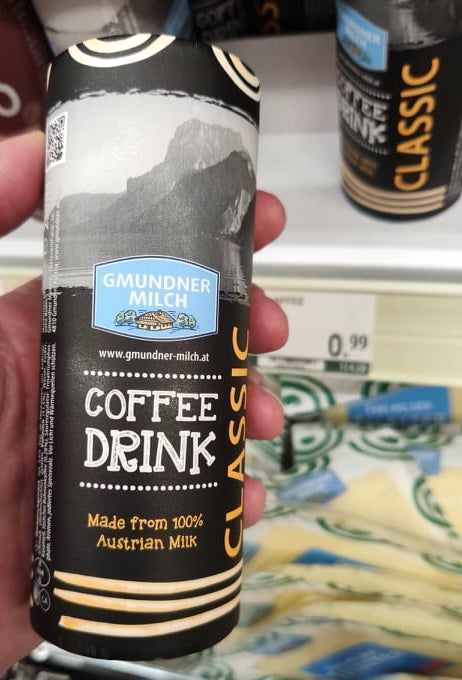 Gmundner Milch Coffee Drink Classic to go Rundkarton