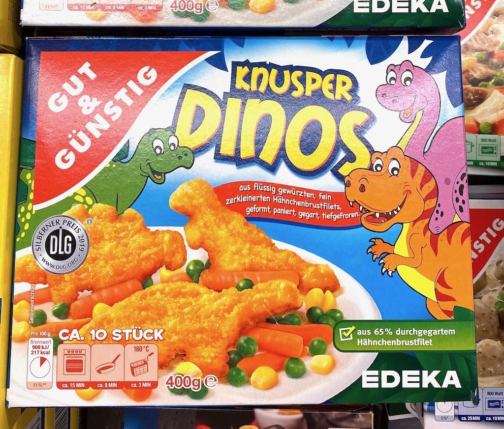 Gut+Günstig Knusper-Dinos Chekcen Nuggets 400G