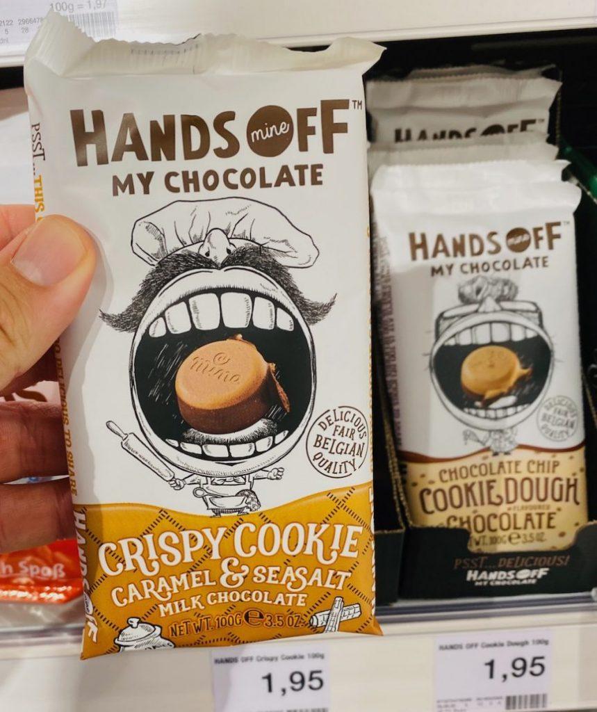 Hands Off My Chocolate Crispy Cookie Caramel+Seasalt 100G