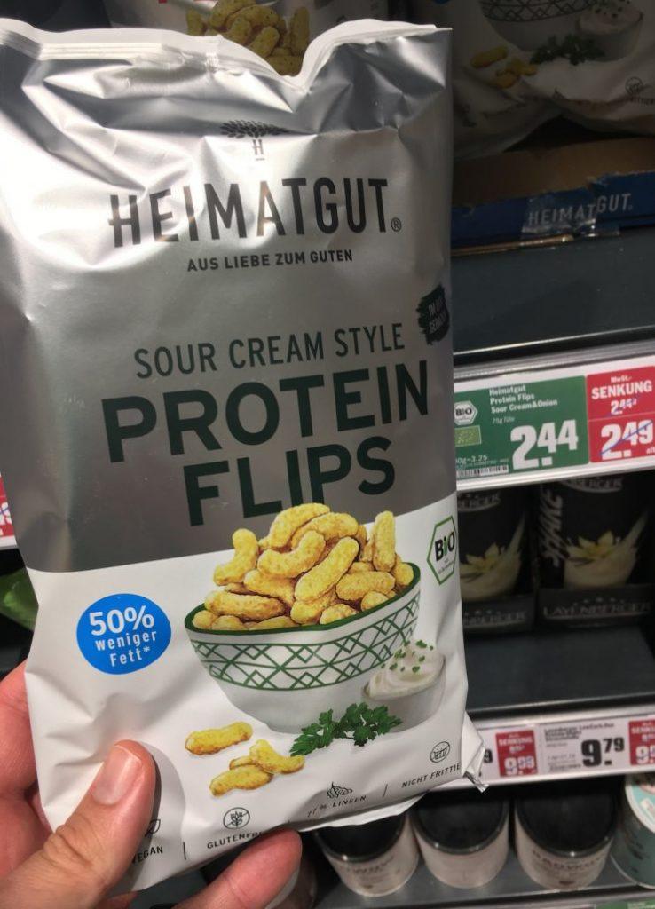 Heimatgut Bio Protein Flps Sour Cream Style