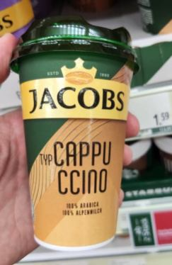Jacobs Cappuccino To Go Kunststoffbecher Österreich