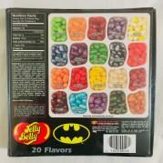 Jelly Belly Batman-Edition Großer Kasten mit Sour Apple-Orange-Strawberry-Island Punch-Butterd Popcorn-Blueberry-Grape Soda-Green Apple-Wild Blackberry-Red Apple-Orange