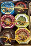 Karlsbader Oblaten Vanille-Chili+Limette-Nugat-Apfel+Zimt-Dunkle Schokolade-Honig+Vanille