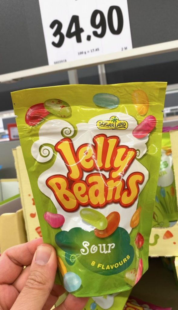 Lidl Tschechien Sugarland Jelly Beans Sour 8 Flavours