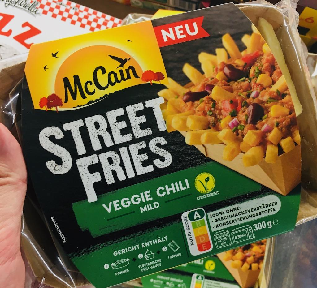 McCain Street Fries Veggie Chili Mild 300G TK