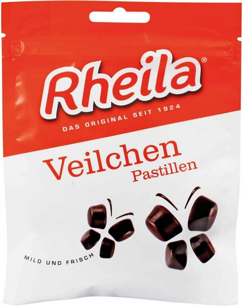 Rheila Veilchen Pastillen Mild und Frisch