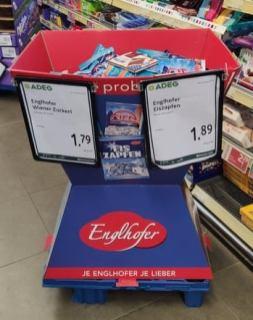 Storck Englhofer Wiener Zuckerl Eiszapfen Bonbons Display
