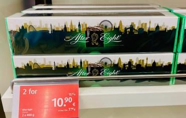 After Eight Städte-Edition aus DutyFree, 800G, Motiv: Skyline Großstadt