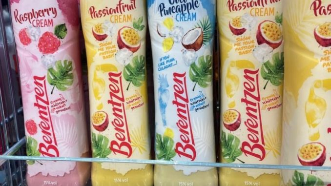 Berentzen Summer Creamer Cremeliköre Raspberry-Passionfruit-Pineapple