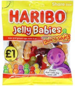 Haribo Jelly Babies UK 160g