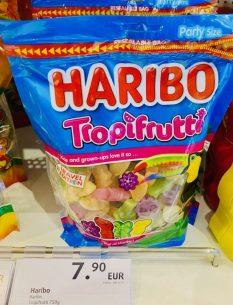 Haribo Tropfrutti Travel Edition 750G Dutyfree Flughafen