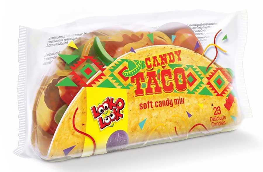 Look-o-look Candy Taco aus Fruchtgummi 115g