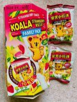 Lotte Koala Strawberry Biscuit 10er Family Box