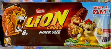 Nestlé Lion Choco Snack Size 6er Snack+Play Motiv