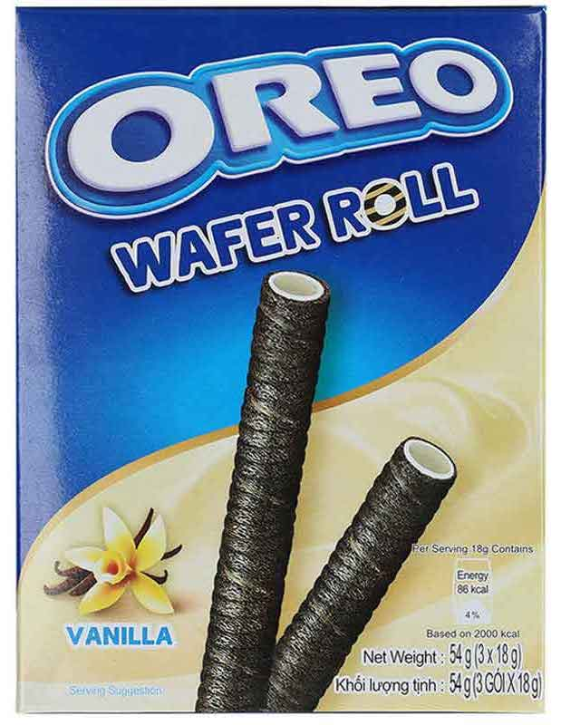 Oreo Wafer Roll Vanilla 54g