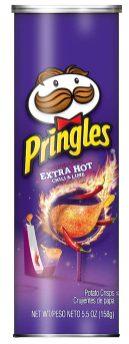 Pringles Extra Hot 158G