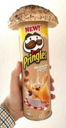 Pringles Mushroom+Cream 165G Pilz Parasol