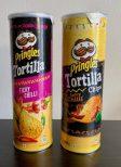 Pringles Tortilla Fiery Chilli und Spicy Chilli 180G