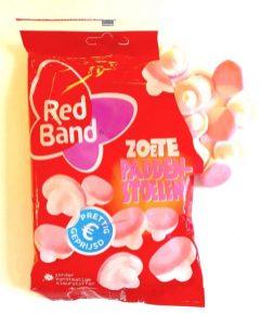 Red Band Zoete Paddenstoelen Schaumzuckerpilze