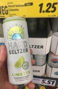 Sunrise Hard Seltzer Limette Dose