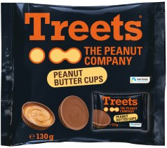 Treets Peanutbutter-Cups 130G