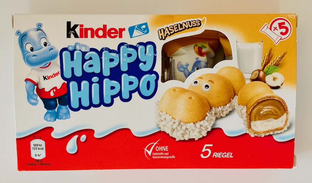 Ferrero Kinder Happy Hippo Haselnuss 5er