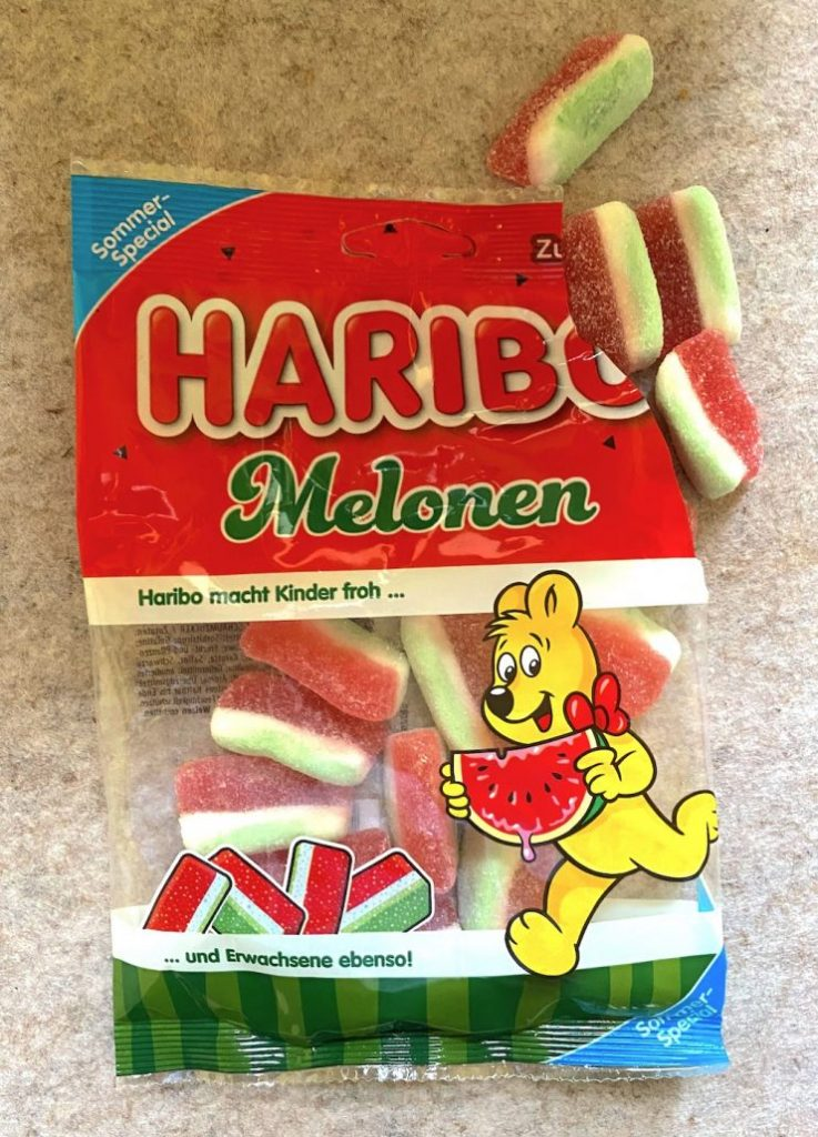 Haribo Melonen Deutch