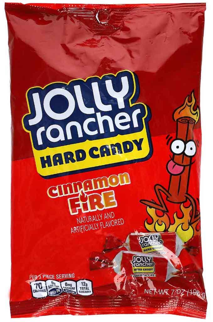 Jolly Rancher Hard Candy Cinnamon Fire 198 Gramm Zimt