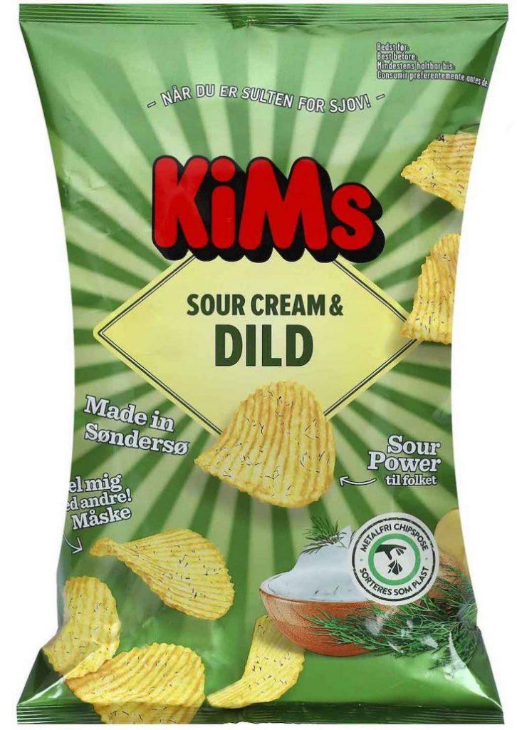 Kims Sour Cream+Dild 170g