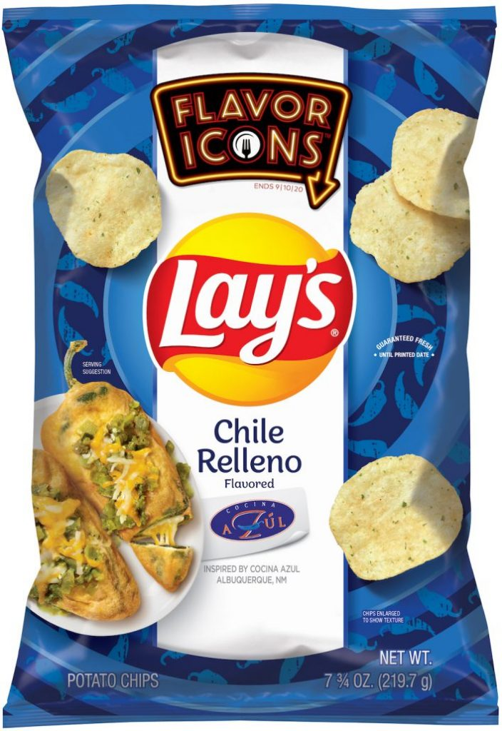 Lays Flavor Icons Chile Relleno AZUL 220G