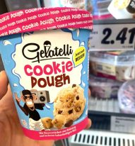 Lidl Gelatelli Cookie Dough Eiskrem Pint
