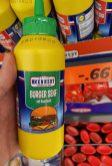 Lidl MCENNEDY Burgersenf mit Rauchsalz Spritztube 250ml