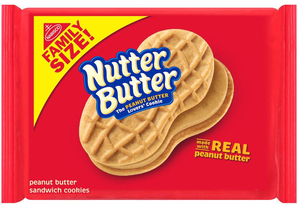 Mondelez Nabisco NutterButter Peanutbutter sandwich Cookies