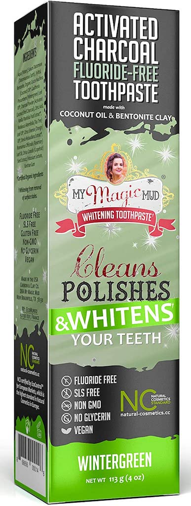 My Magic Mud Whitening Toothpaste Cleans Polishes+Whitens your Teeth Wintergreen 113G