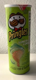 Pringles Limona+Lime Geschmack 139G