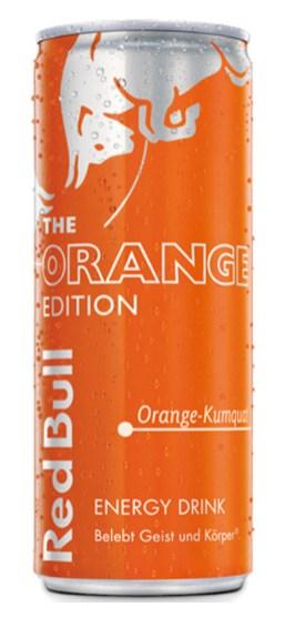 Red Bull Edition Orange-Kumquat, 250ML