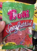 Trolli Spaghettini Sour Erdbeere Vegan