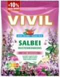 Vivil Hustenbonbons Salbei ohne Zucker 88g