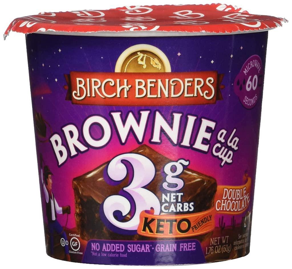 Birch Benders Brownie a la cup Double Chocolate 50G Tassenkuchen