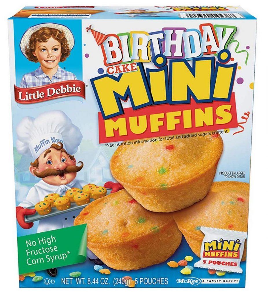 Birthday Mini Muffins 5er 240G Fertigkuchen