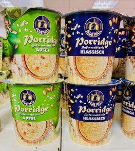 Blue Mill Porridge Hafermahlzeit Apfel-Klassisch