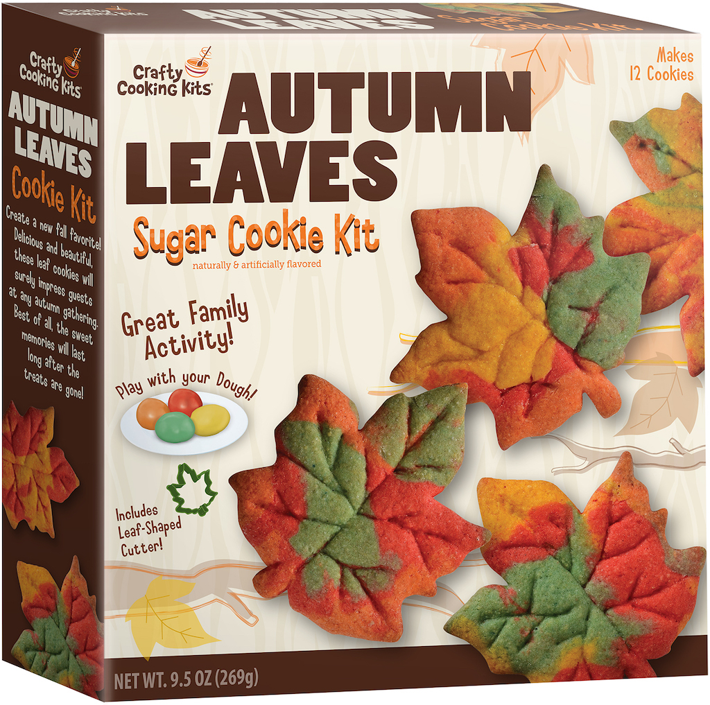 Crafty Cooking Kits Autumn Leaves Sugar Cookie Kit 269G