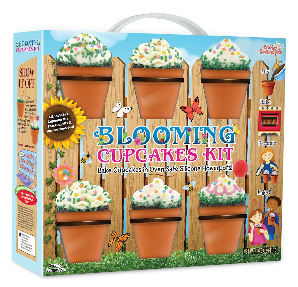 Crafty Cooking Kits Blooming Cupcakes Kit 411G