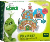 Crafty Cooking Kits The Grinch Who-Ville House Pre-Baked Gingerbread Cookie Kit