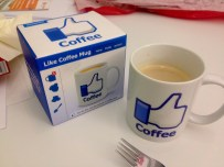 Facebook Coffee Mug Kaffeebecher
