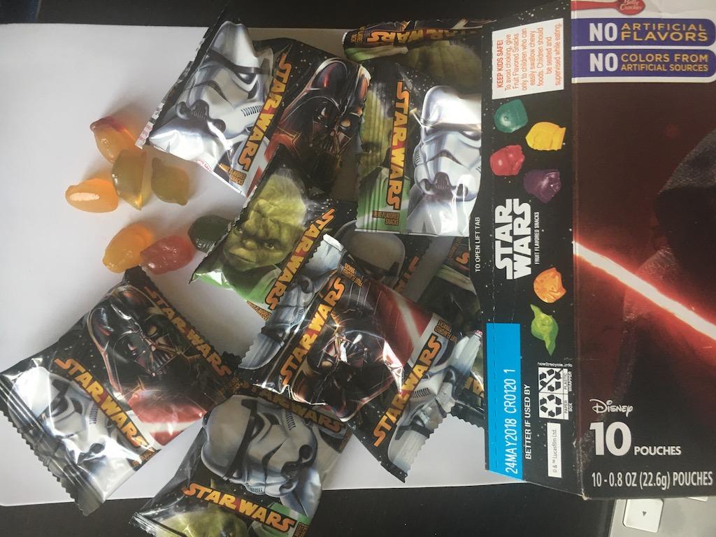 General Mills Disney Star Wars Fruchtgummi in 10 Minisäckchen