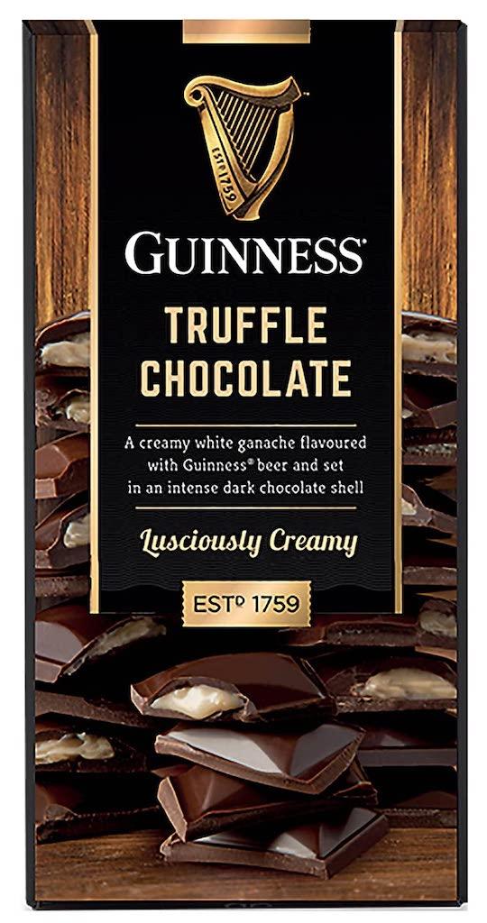 Guinness Truffle Chocolate Gefüllte Tafelschokolade