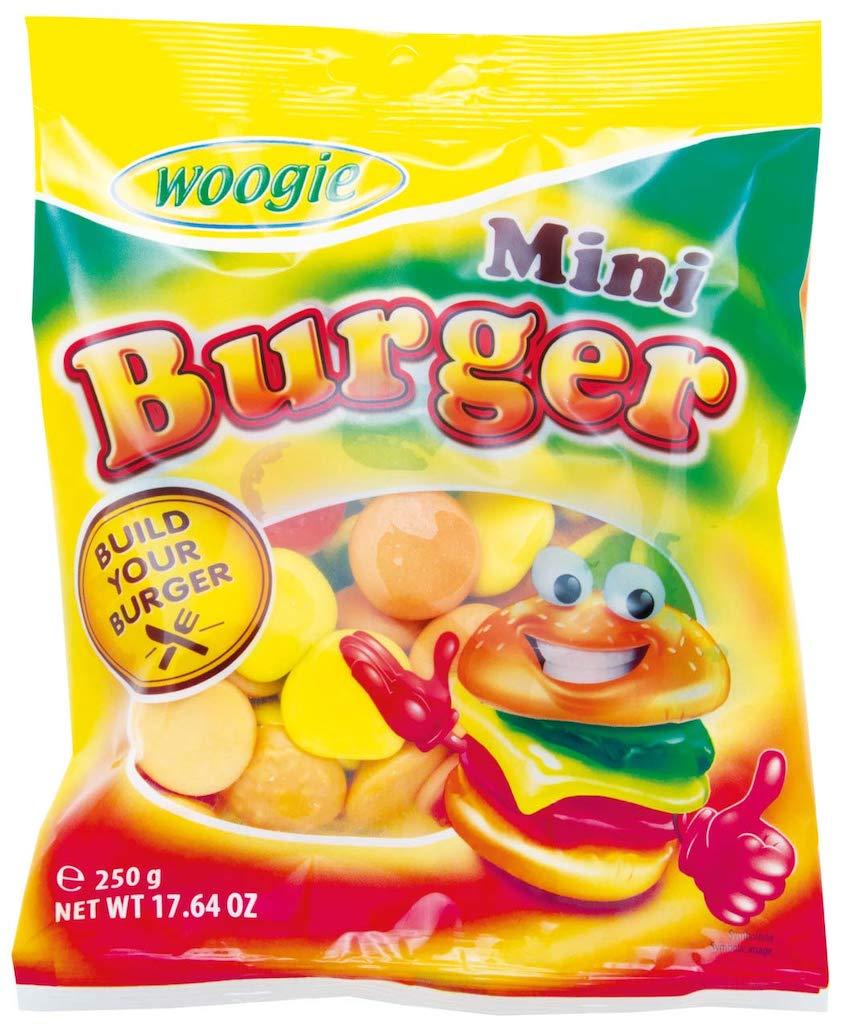 Gunz Woogie Mini Burger Fruchtgummi