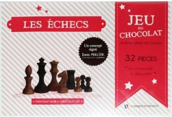 Jeu en Chocolat Les Echecs Dunkle Schokolade 32 Stücke